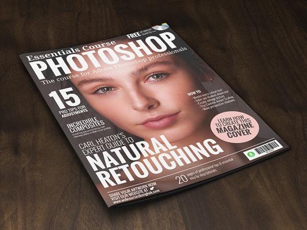 How to make photo magazine cover